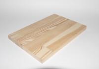 Сращенный мебельный щит 18 / 20 * 600 * 900 / 1900 мм лиственница сорт А